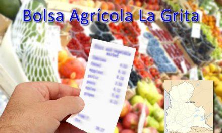 Bolsa Agrícola La Grita Domingo 04/11/2018