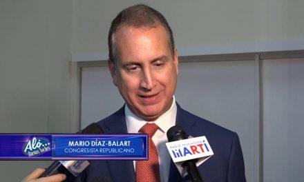 Entrevista de Carla Angola al congresista Mario Díaz-Balart