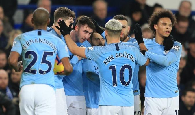 City tomó el liderato momentáneo venciendo al Everton
