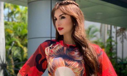La animadora Melany Mille le dejó el pelero a Televen