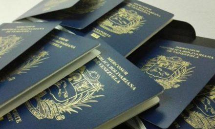 Aumento del petro empuja el precio del pasaporte a 160.000.