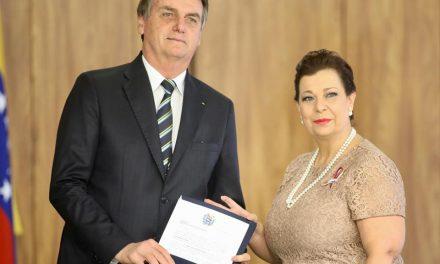 Bolsonaro reconoce a Belandria como embajadora de Venezuela ante Brasil