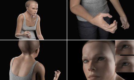 Mindy, un modelo en 3D del ser humano para el año 3000