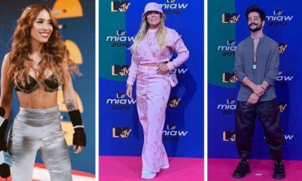 Así lucieron los famosos en la Pink Carpet de los MTV Miaw