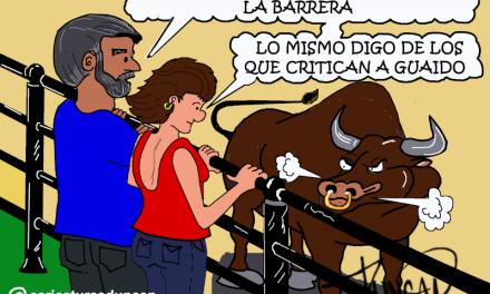 «DETRÁS DE LA BARRERA» Caricaturas de Duncan