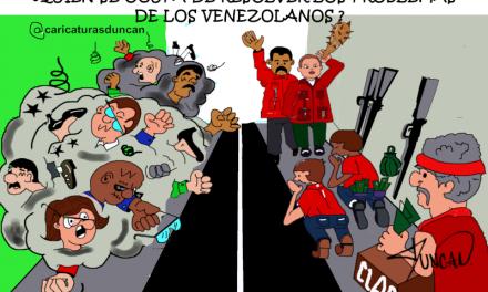 «UN PAÍS, DOS CONTEXTOS» Caricaturas de Duncan