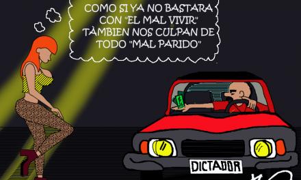 «Mal parido» Caricaturas de Duncan