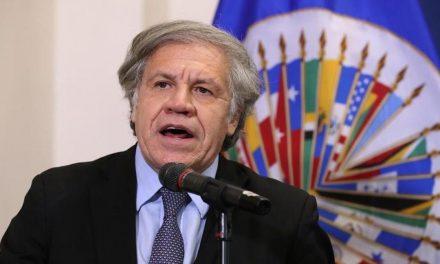 Almagro certificó que hay 590 presos políticos en el país