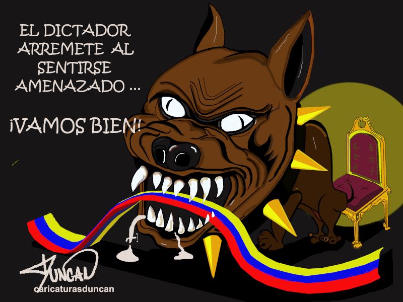 «El Dictador» Caricaturas de Duncan