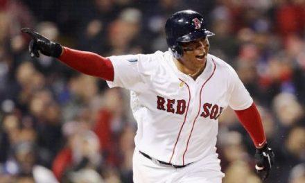 Rafael Devers de Red Sox a la cima
