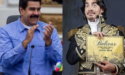 Maduro aplaude serie de Bolívar después de criticarla