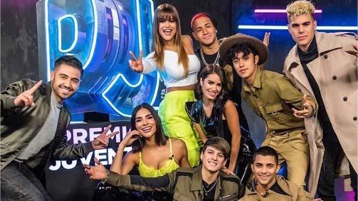 Peluches que brillarán en «Premios Juventud 2019»