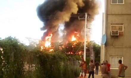 Estalló y se incendió llenadero de gas en Ocumare del Tuy