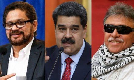 Vinculan actividad guerrillera colombiana con régimen de Maduro