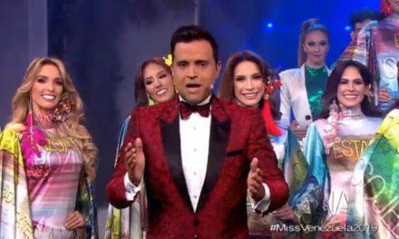 Escenario vegetal y sobredosis de color en opening del Miss Venezuela