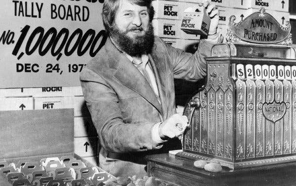 Gary Dahl y su invento multimillonario: Las mascotas de piedra.