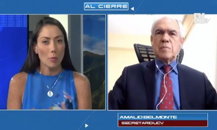 Secretario UCV: régimen pretende que no haya universidades ni pensamiento libre