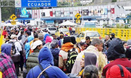 Colombia aboga por la creación de un corredor humanitario con Ecuador y Perú