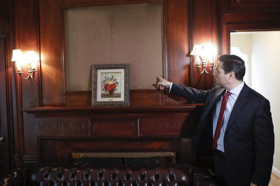 Estados Unidos ayuda a Guaidó a rastrear obras de arte robadas