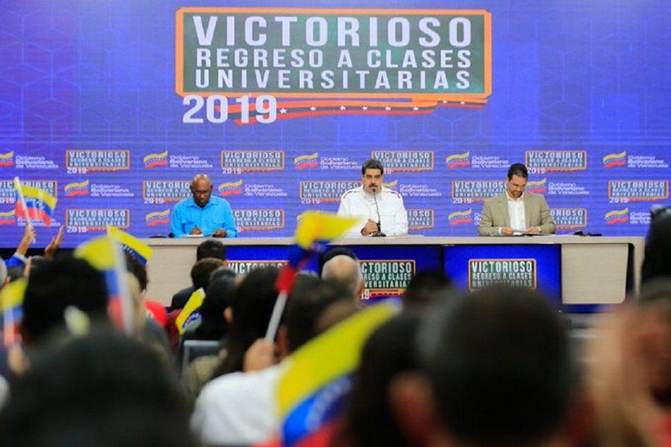 Nicolás Maduro se limpia las manos y culpa al FMI de lo que ocurre en Ecuador
