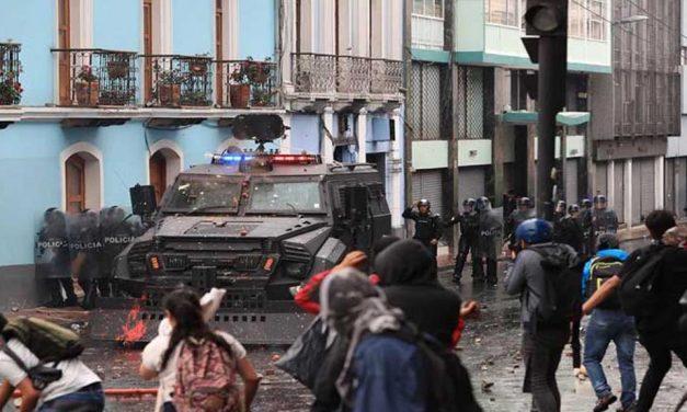 Declaran estado de excepción en Ecuador por las protestas
