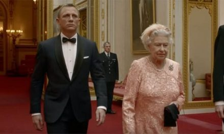 Revelaron cómo se grabó el cameo de la reina Isabel II en James Bond
