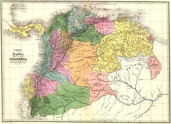 21 de noviembre de 1831 - Disolución de la Gran Colombia