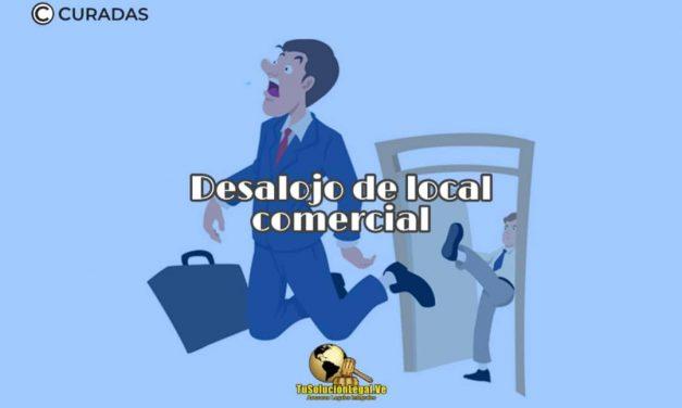 Desalojo del Local Comercial en Venezuela