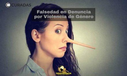 Falsedad en denuncia de violencia de género