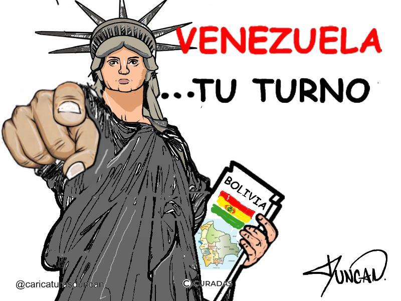«Tu turno» Caricaturas de Duncan