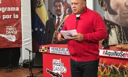 Cabello: «Solo el chavismo cierra calles»