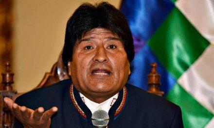 Evo Morales propone diálogo para alcanzar la paz en Bolivia tras fuertes protestas