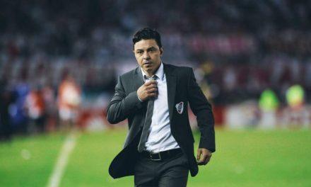 Marcelo Gallardo a un paso del Camp Nou