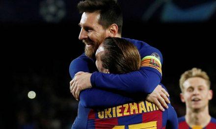 ¡Cuidado! este solo es el inicio de la dupla explosiva Messi-Griezmann
