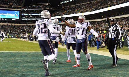 Los Patriots remontaron y tomaron revancha de Philadelphia