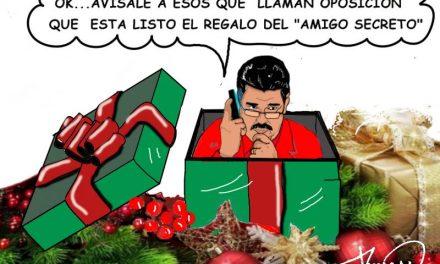 «El regalo del amigo secreto» Caricaturas de Duncan