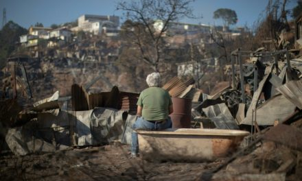 200 casas en Chile fueron afectadas por Incendio forestal