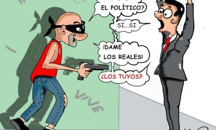 » El candidato»  Caricaturas de Duncan