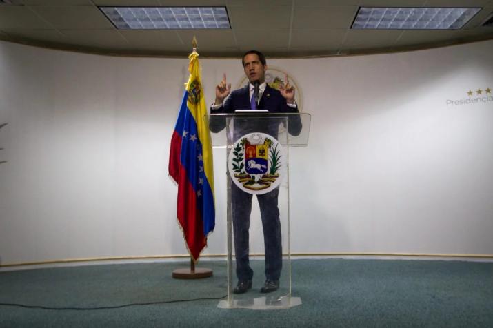 Guaidó afirmó que