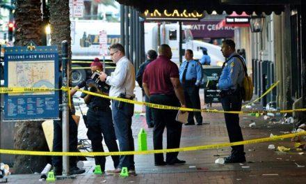 Tiroteo deja 10 heridos en Nueva Orleans