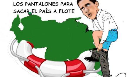 «Ponerse los pantalones» Caricaturas de Duncan