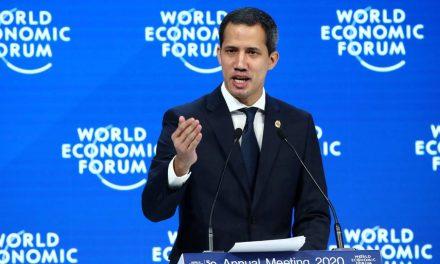 Juan Guaidó en Davos: «No vamos descansar hasta lograr nuestra segunda independencia»