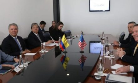 Pompeo denunció intervención de Hezbollah en Venezuela en Conferencia de Colombia