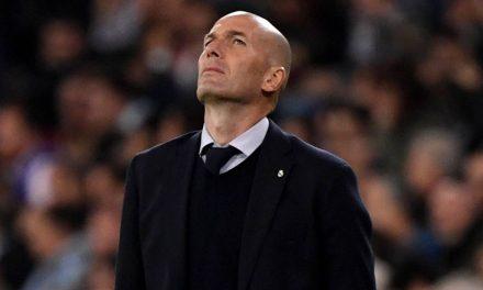 Zidane: «No estoy preocupado, pero debemos estar más atentos»