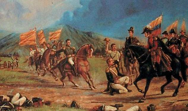 El 12 de febrero de 1814 se libró la Batalla de La Victoria