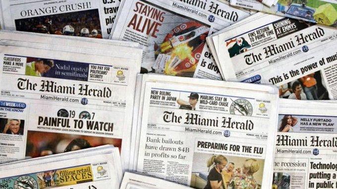 Miami Herald y otros periódicos en EEUU se declararon en bancarrota