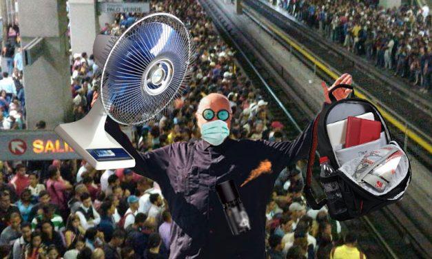 El Cl-Audio de Nazoa: El corresponsal Nazoa reporta desde el metro
