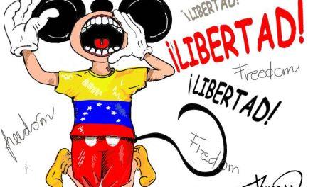 ¡Libertad! Caricatura de Duncan