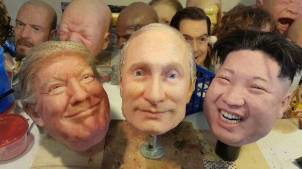 Las increíbles máscaras hiperrealistas indetectables hechas de silicona