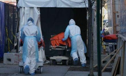 EEUU registró 1150 muertes por coronavirus en 24 horas